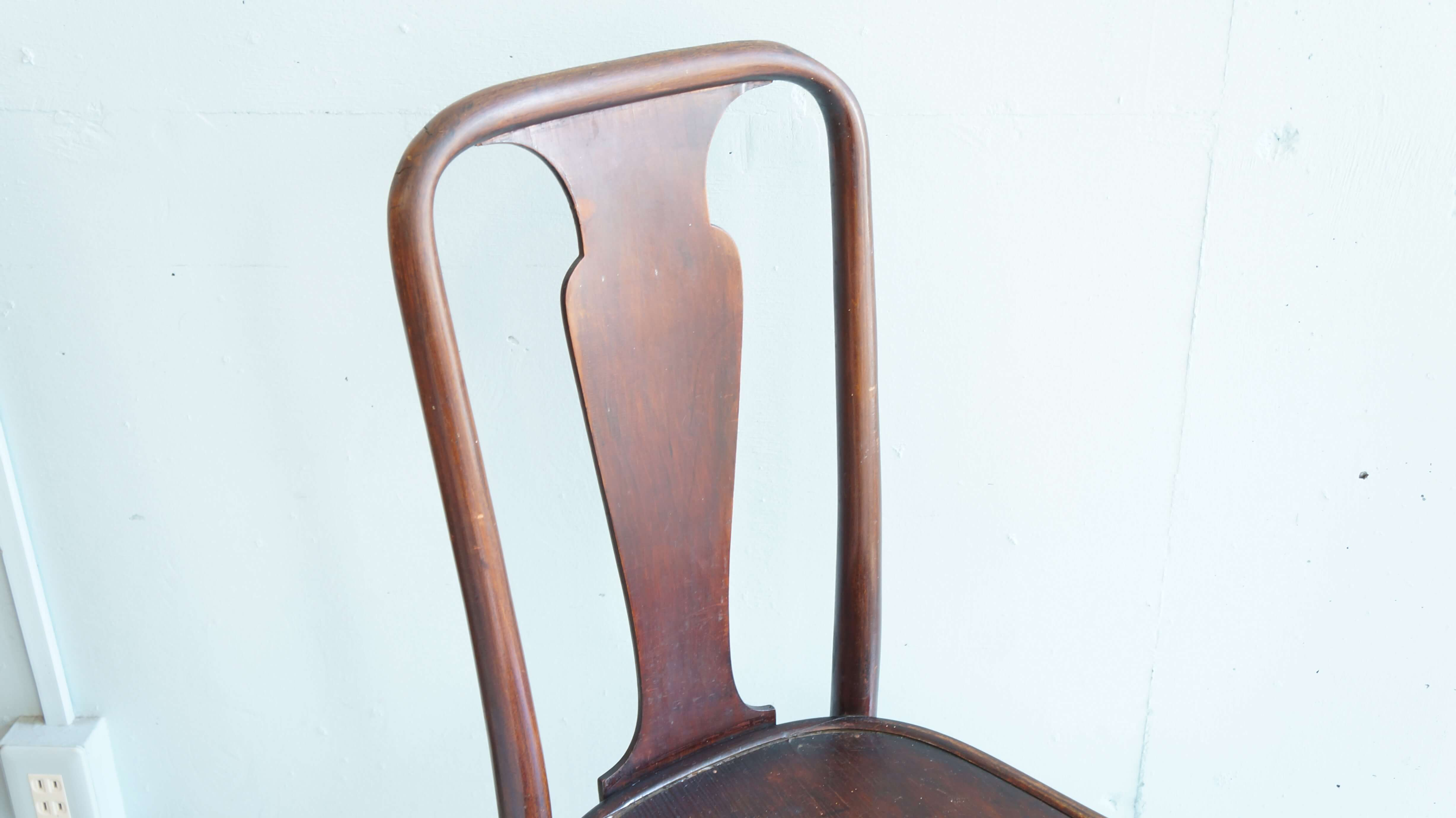 THONET BENT WOOD QUEEN ANNE CHAIR NO.442 / トーネット社 クイーンアンチェア 曲木
