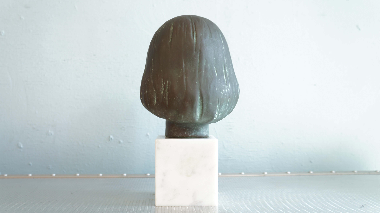 YASUTAKE FUNAKOSHI Bronze image Sculpture / 舟越 保武 ブロンズ像 少女A アンナ 少女K嬢 彫刻