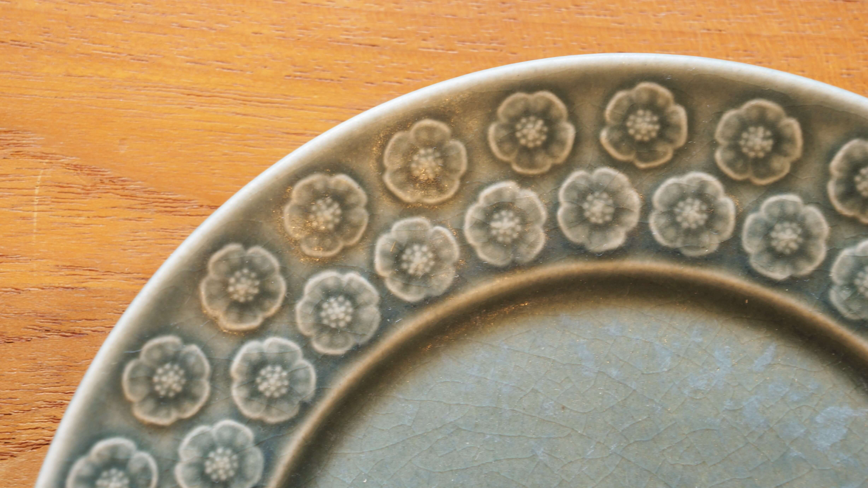 Kronjyden Bla Azur cake plate 17cm/クロニーデン ブルーアズール ケーキプレート17cm