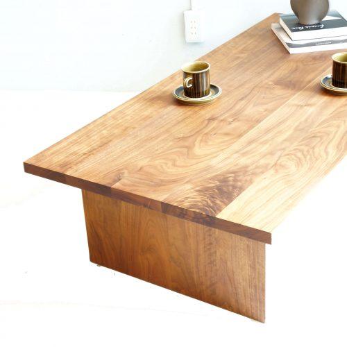 MUJI WALNUT WOOD CENTER TABLE / 無印良品 ウォールナット センターテーブル オーダーメイド