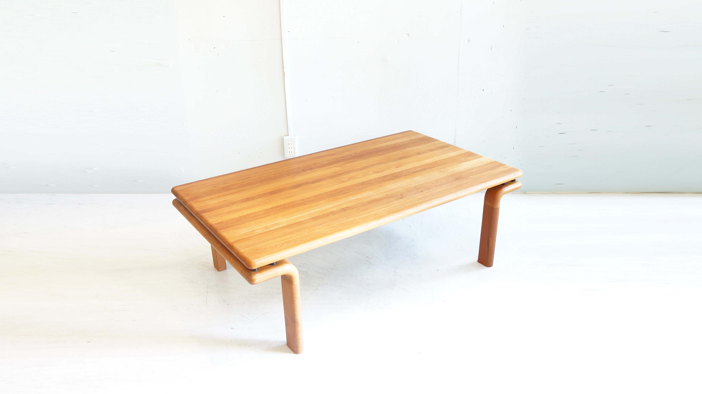 デンマーク コンフォート社製 ローテーブル チーク材のお買取させていただきました。