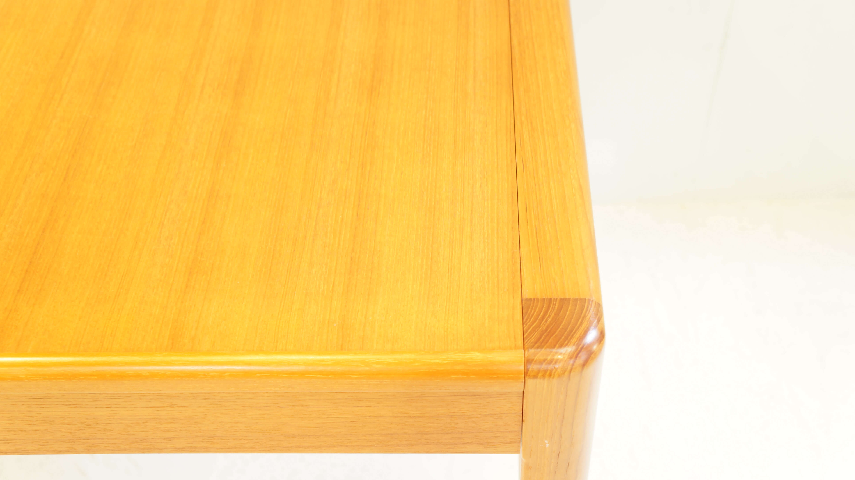 JAPAN VINTAGE TEAK WOOD EXTENSION DINING TABLE / ジャパン ビンテージ チーク材 エクステンション ダイニング テーブル