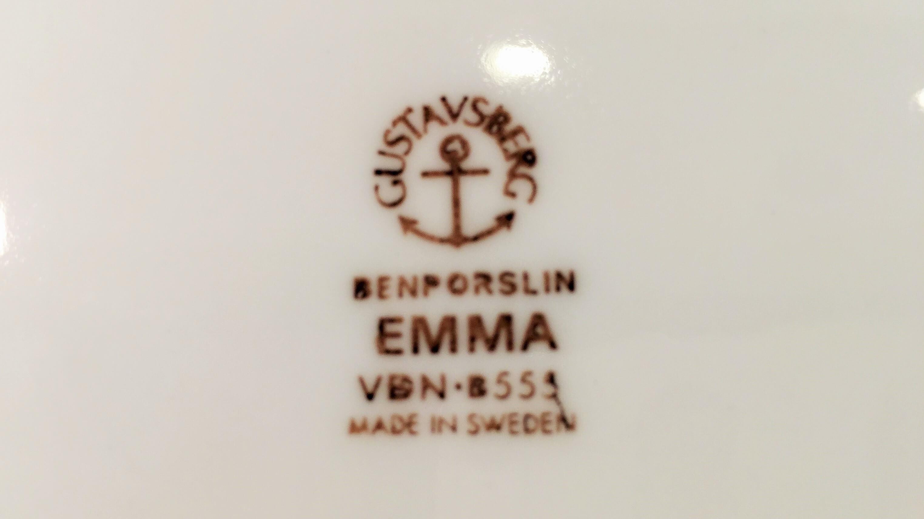 "GUSTAVSBERG ""Emma"" plate 17cm/グスタフスベリ ""エマ"" プレート 17cm"