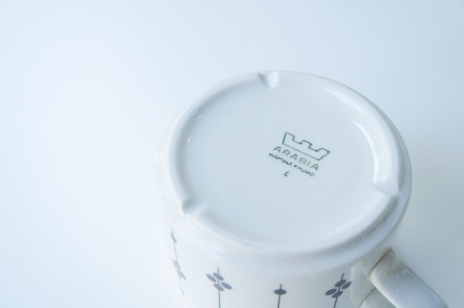 "ARABIA ""Kartano"" tea cup&saucer/アラビア ""カルタノ"" ティーカップ&ソーサー"