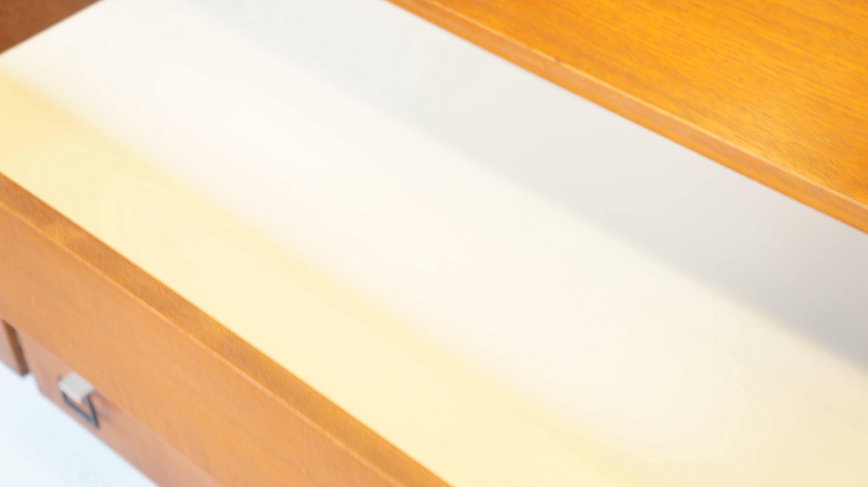 UK VINTAGE TEAK WOOD CHEST SIMPLE MODREN / イギリス製 ビンテージ チェスト サイドボード シンプルモダン