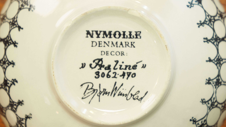 """Nymolle Bjorn Wiinblad design bowl """"Praline""""/ニモール ビョルン・ヴィンブラッド デザイン ボウル """"プラリネ"""""""