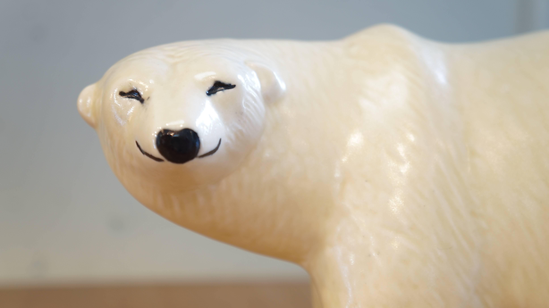 "GUSTAVSBERG Lisa Larson ""SKANSEN"" polar bear/グスタフスベリ リサ・ラーソン ""スカンセン"" シロクマ"