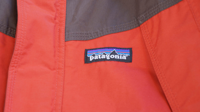 Patagonia Storm Jaket size S Red: Charcoal Grey / パタゴニア ストームジャケット Sサイズ レッド:チャコールグレイ