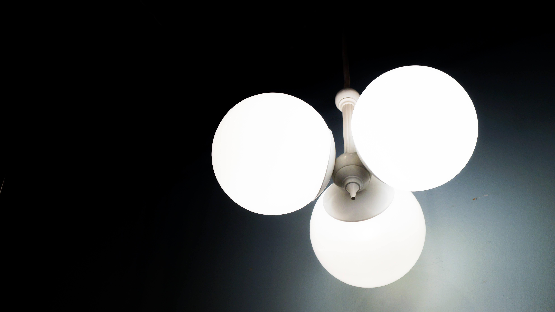 VINTAGE Chandelier×pendant light×lamp 3灯