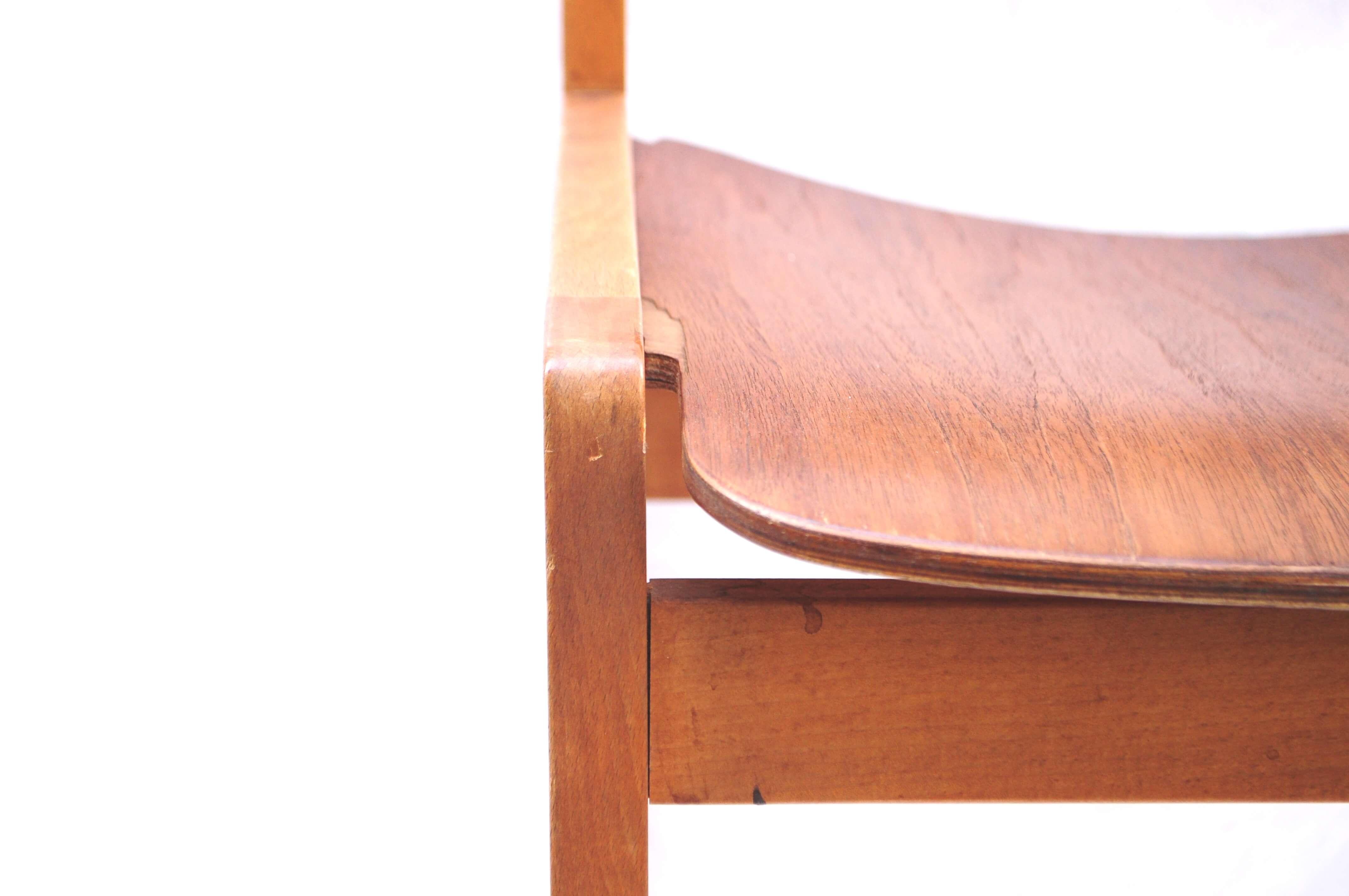 Tendo BookChair TeakWood/ 天童木工 ブックチェア チーク材