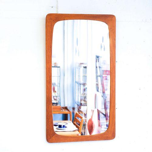 北欧 デンマーク ヴィンテージ ウォール ミラー / Danish Vintage Wall Mirror 鏡