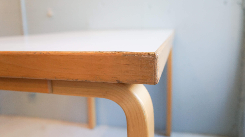 artek/アルテック テーブル 机 TABLE 80A Alvar Aalto/アルヴァ アアルト ホワイト
