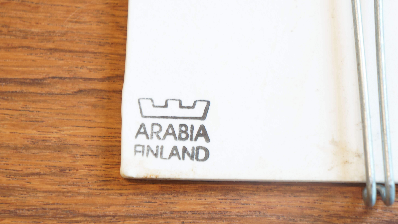 ARABIA Helja Liukko Sundstrom Wall Plate/アラビア ヘルヤ・リウッコ・スンドストロム ウォールプレート