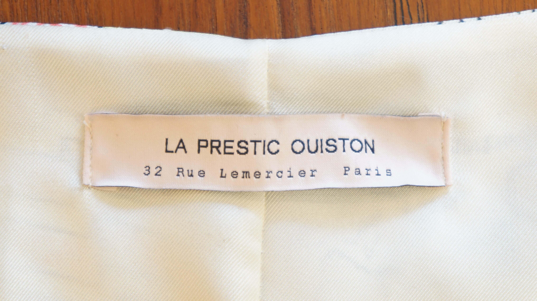 LA PRESTIC OUISTON silk blouse/ラ・プレスティック・ウィストン シルクブラウス