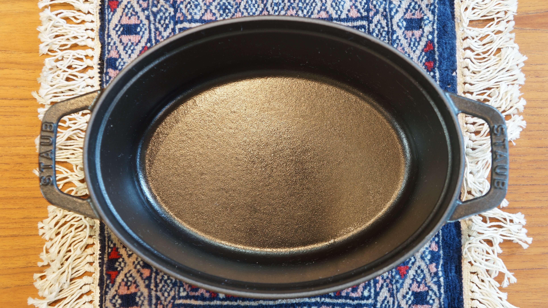 staub pico cocotte oval 23cm black/ストウブ ピコ・ココット オーバル 23cm ブラック