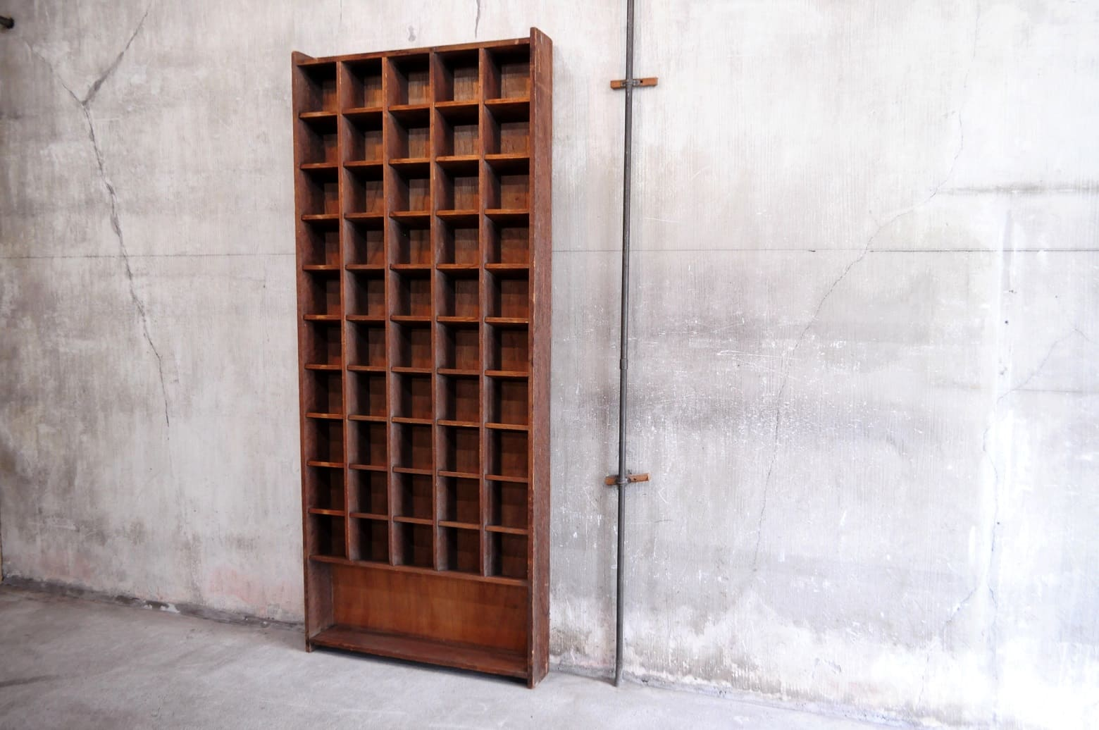 Antique Post Office Sorting Shelf/アンティーク 郵便局 仕分け棚