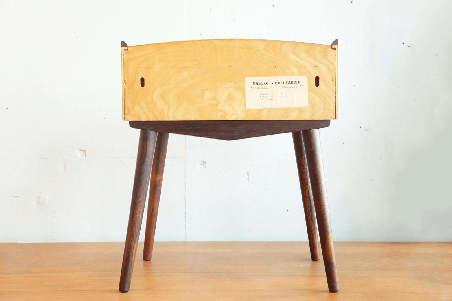 Danish Vintage Side Table Rosewood/デンマークヴィンテージ サイドテーブル ローズウッド
