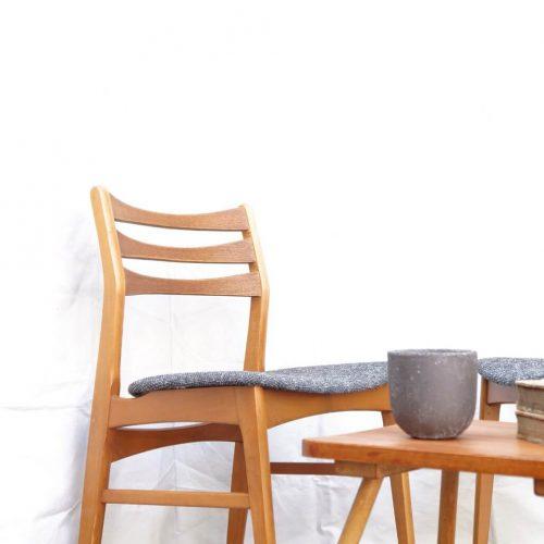 Faldsled & Mobelfabrik Dining Chair Made in Denmark REUPHOLSTERED / デンマーク製 ダイニングチェア 張替え済み