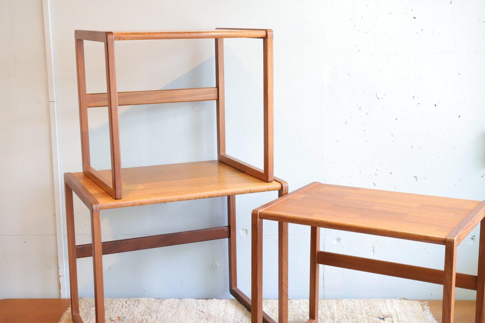 UK vintage G-PLAN Nest Table/イギリス ヴィンテージ G-PLAN ネストテーブル