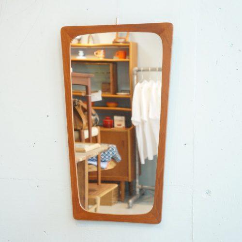 Danish Vintage Wall Mirror/デンマーク ヴィンテージ ウォールミラー