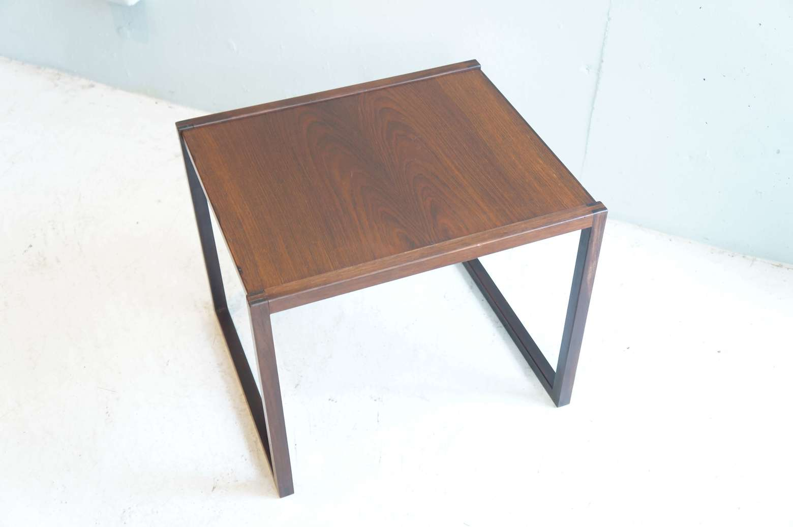 Vildbjerg Møbelfabrik Design by Kai Kristiansen Rose Wood Nesting Table One Piece / カイ クリスチャンセン デザイン ネストテーブル