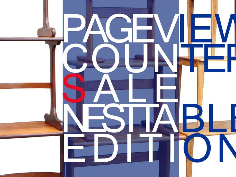 PAGE VIEW COUNTER SALE NEST TABLE EDITION UNTIL 6/30