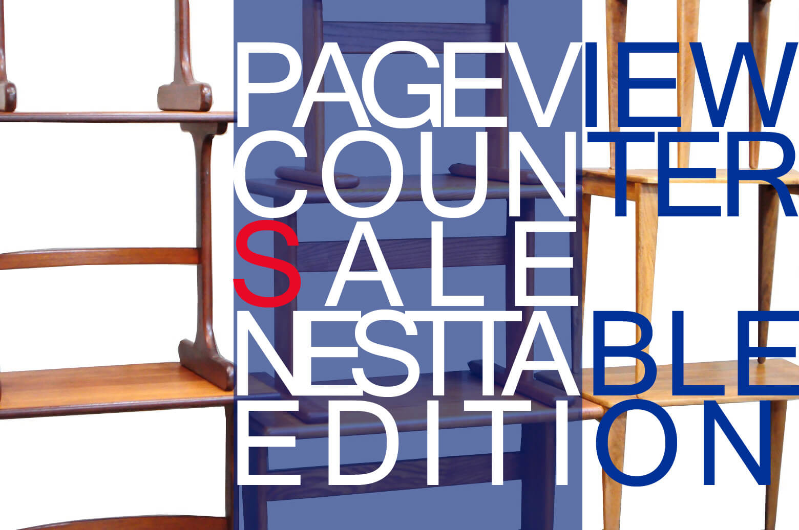 PAGE VIEW COUNTER SALE NEST TABLE EDITION UNTIL 5/23