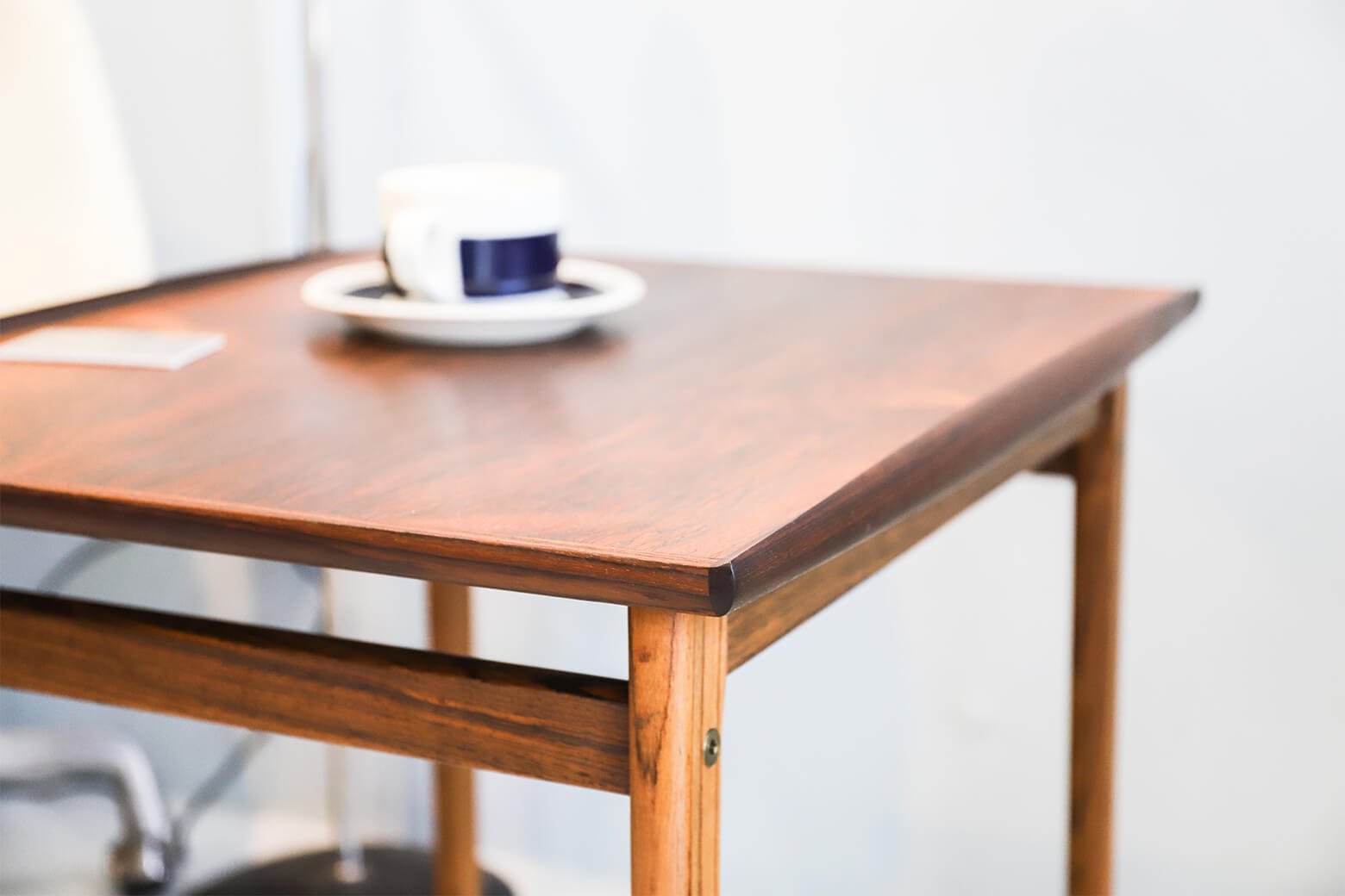 Scandinavian Vintage Rose Wood Side Table/北欧ヴィンテージ ローズウッド サイドテーブル