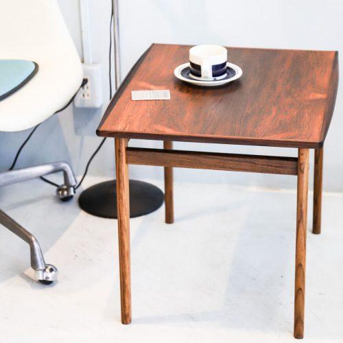 Scandinavian Vintage Rose Wood Side Table/北欧ヴィンテージ ローズウッド サイドテーブル