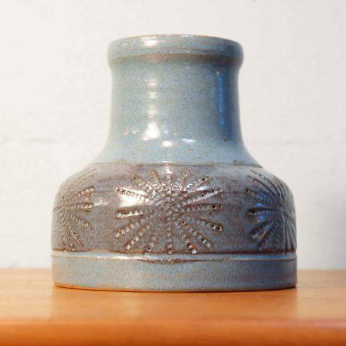 Scandinavian Vintage Flower Vase Light Blue/北欧ヴィンテージ フラワーベース ライトブルー