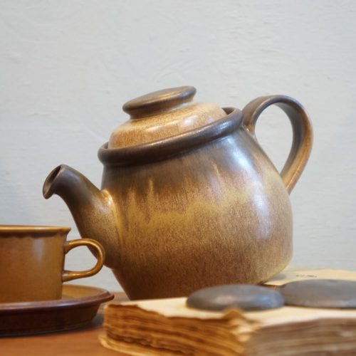 British Vintage Denby Romany Tea Pot/イギリス ヴィンテージ デンビー ロマニー ティーポット