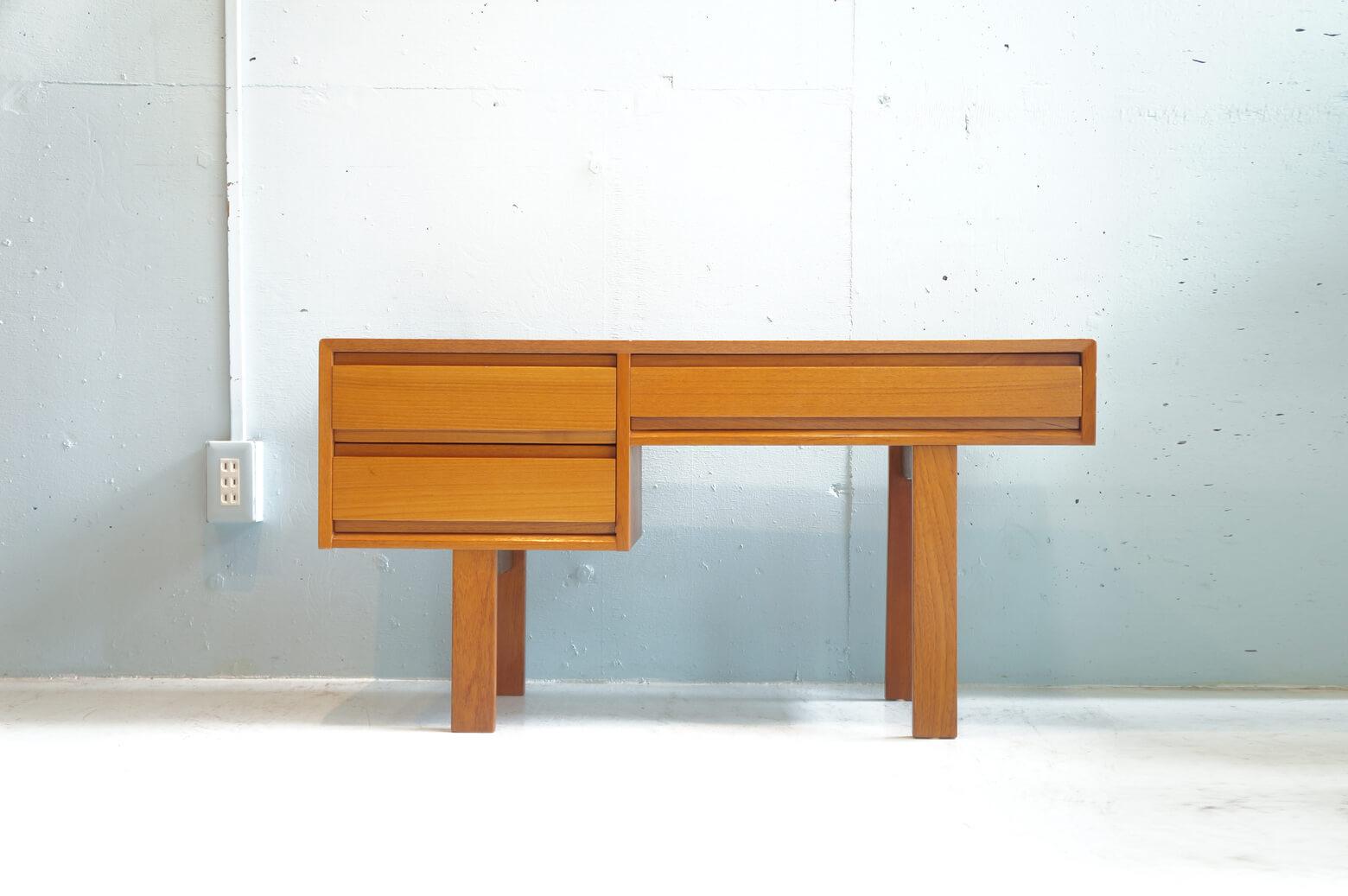 Danish Vintage Side Chest Low Board/デンマーク ヴィンテージ サイドチェスト ローボード