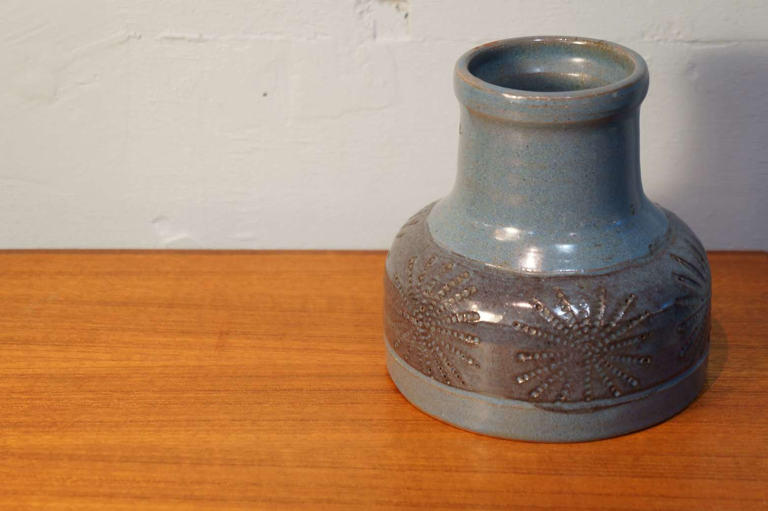 Scandinavian Vinatage Flower Vase Light Blue/北欧ヴィンテージ フラワーベース ライトブルー