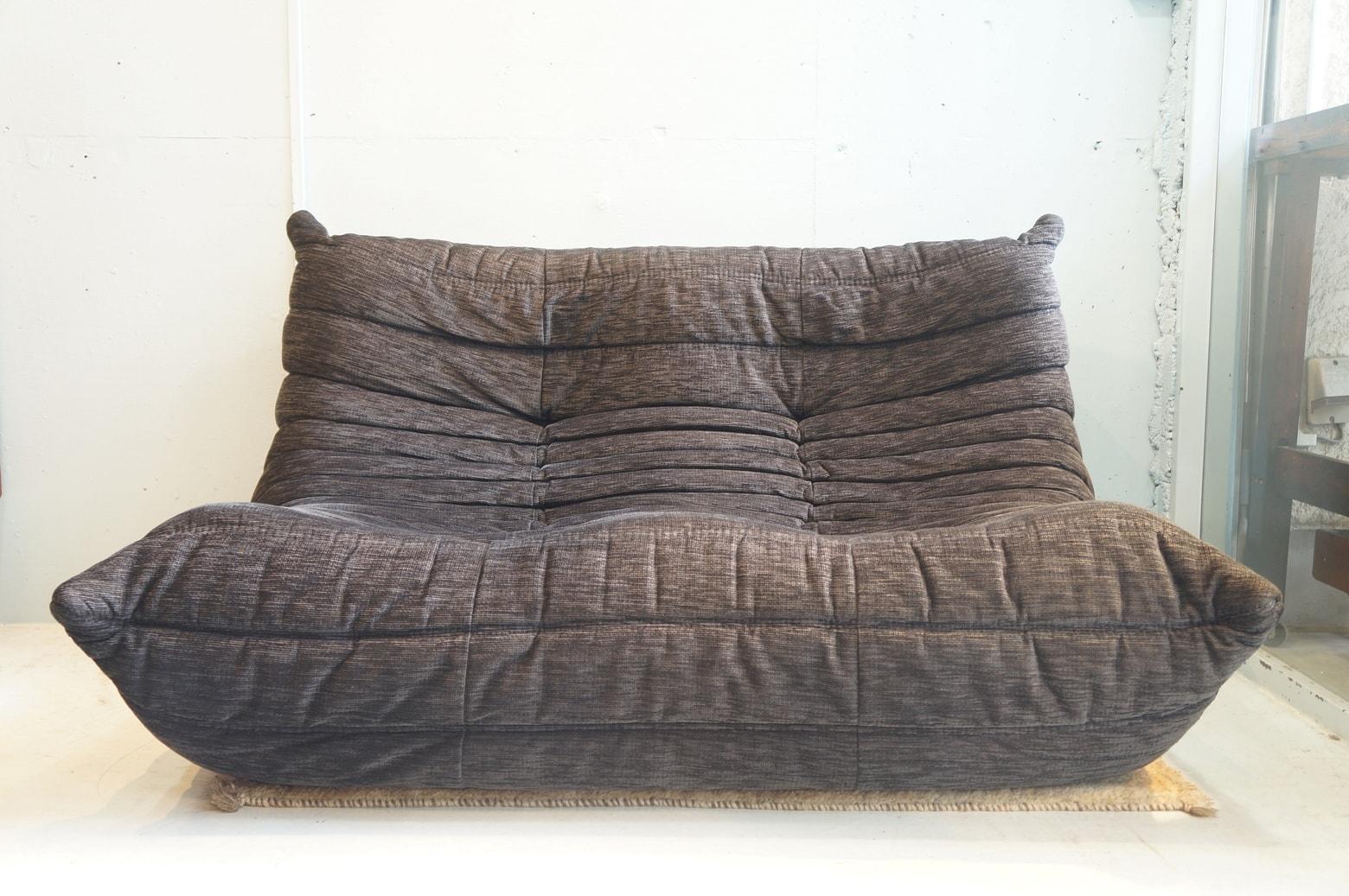 igne roset TOGO 2P sofa gray/リーン・ロゼ トーゴ 2P ソファ グレー