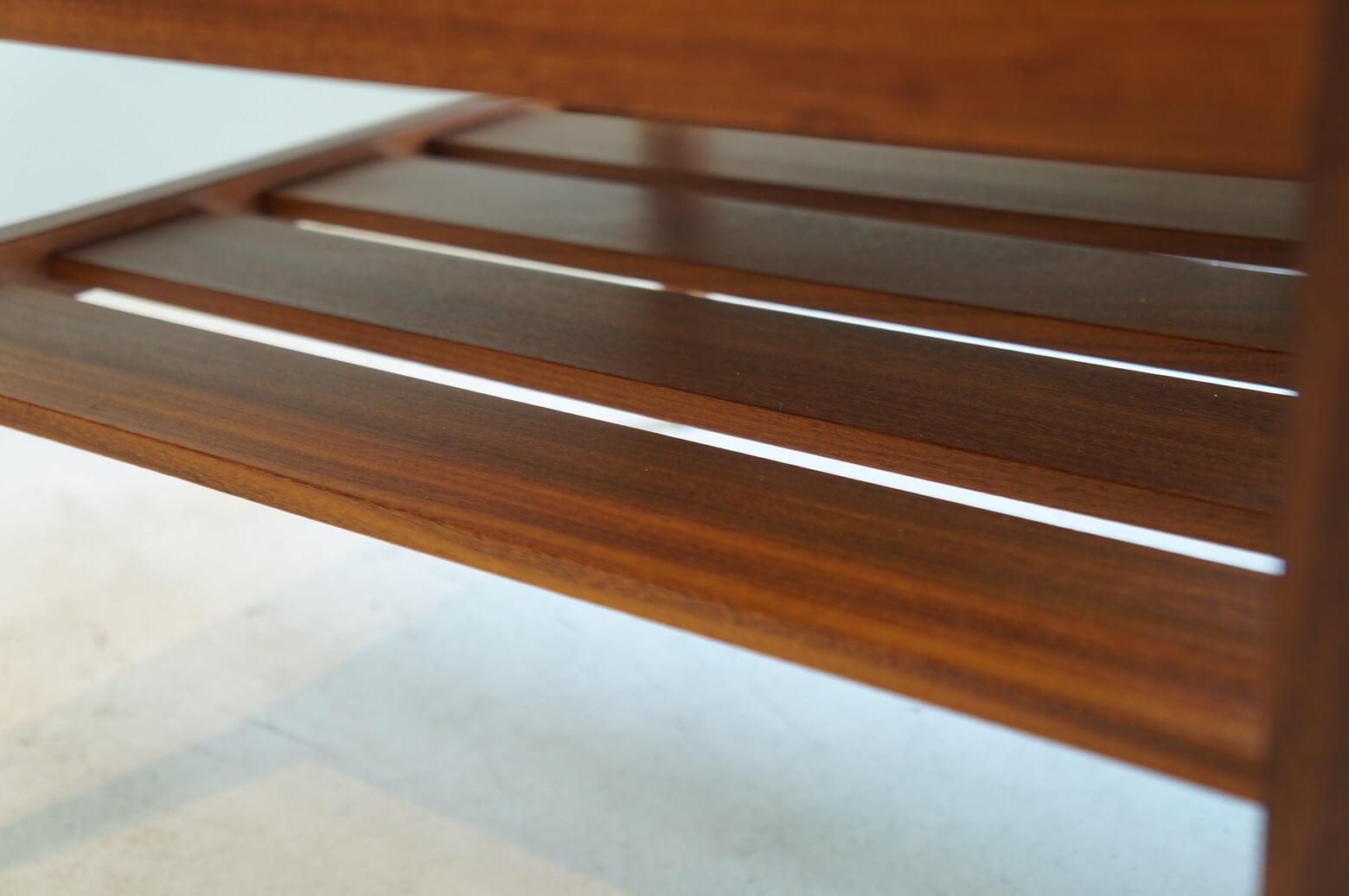 Danish Vintage Square Low Table/デンマーク ヴィンテージ スクエアローテーブル