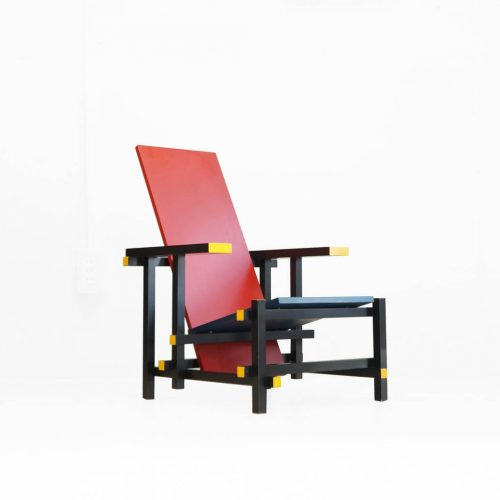 Rietveld Red&Blue Mini Chair / リートフェルト ミニチェア