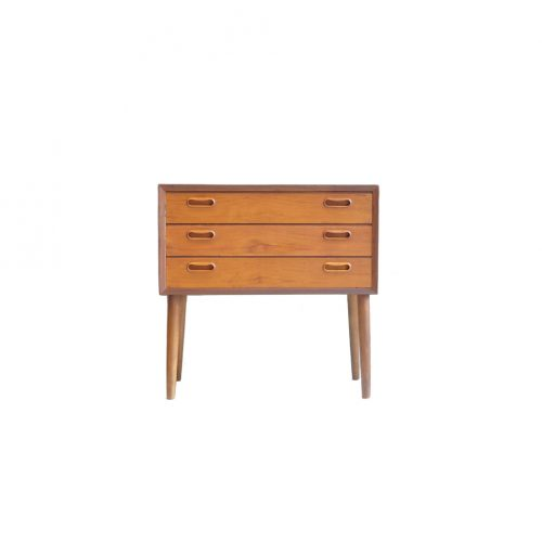 Danish Vintage 3 Drawer Chest/デンマーク ヴィンテージ 3段 チェスト