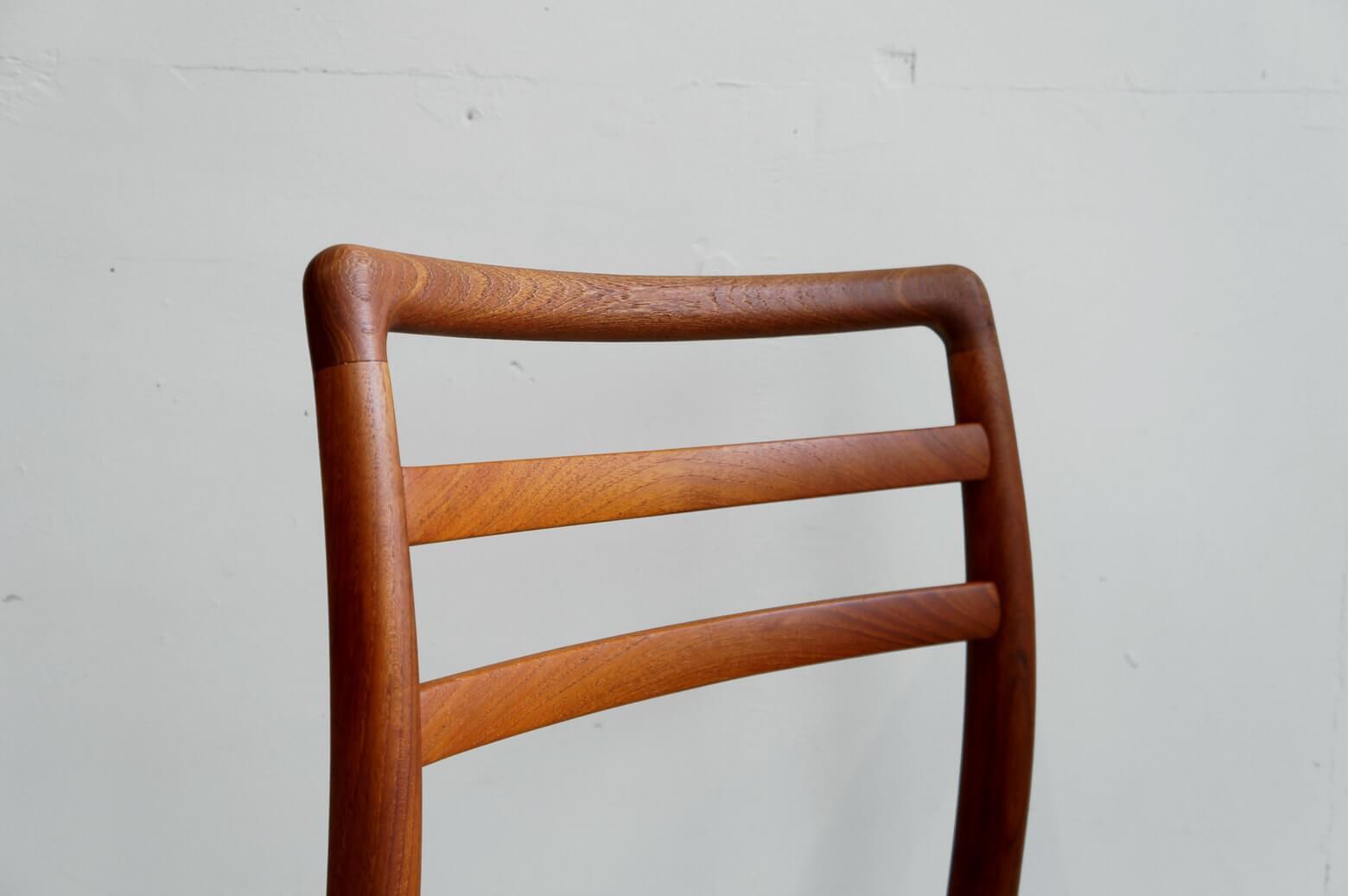 Aobayashi Seisakujo Teakwood Dining Chair/青林製作所 チーク材 ダイニングチェア 1