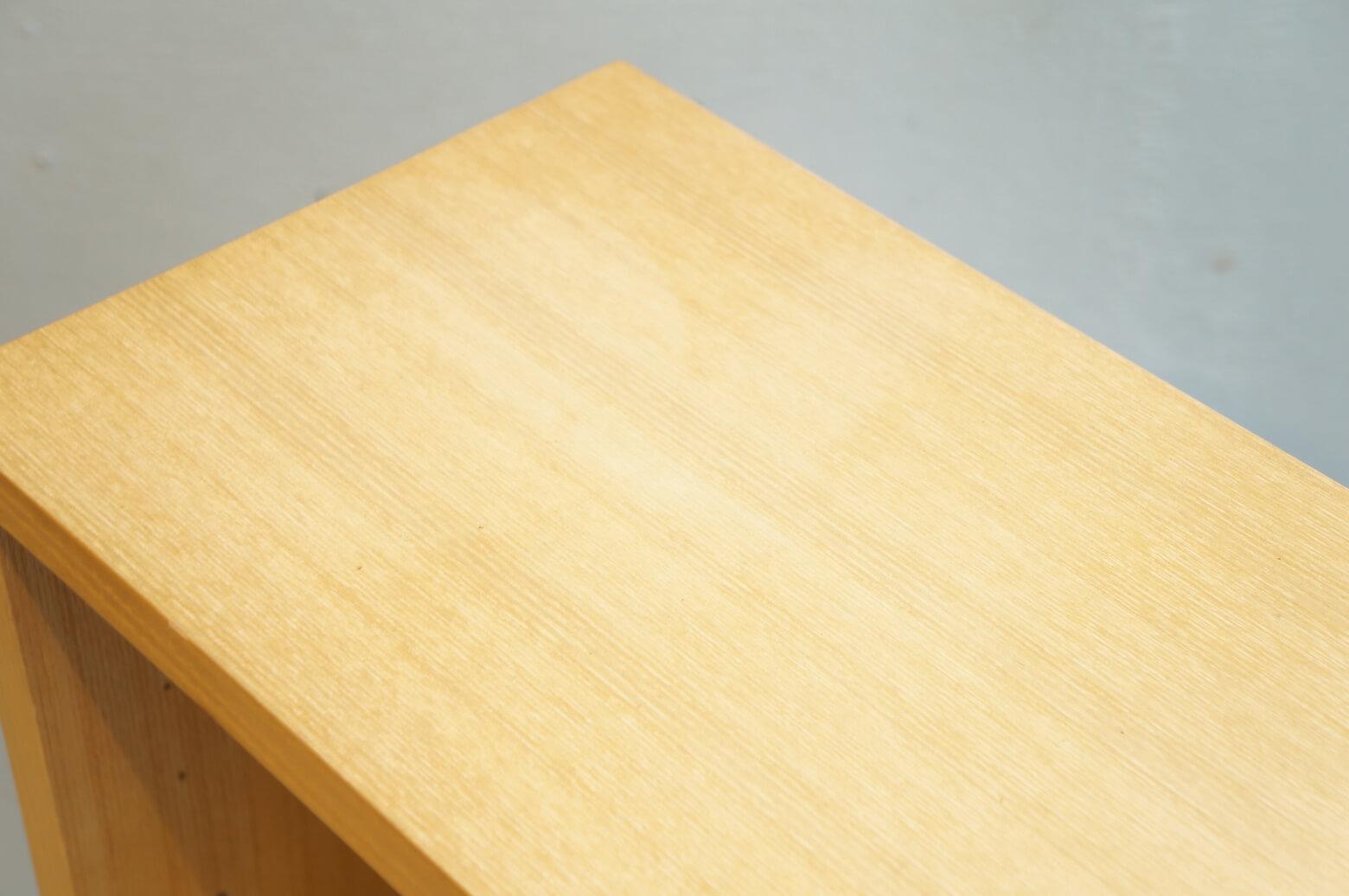 MUJI Ash Wood Slim Rack Low Type/無印良品 タモ材 薄型ラック ロータイプ