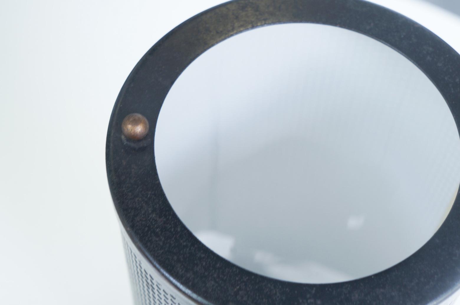 US Vintage Iron Mesh Table Lamp/アメリカ ヴィンテージ アイアン メッシュ テーブルランプ