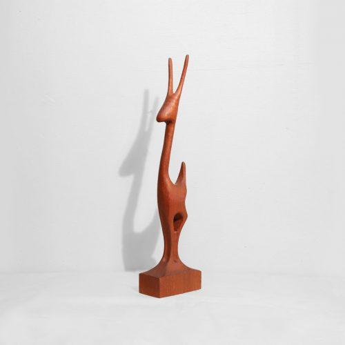 Danish Vintage Arne Basse Teakwood Gazelle/デンマーク ヴィンテージ アルネ・バッセ チーク材 ガゼル 鹿