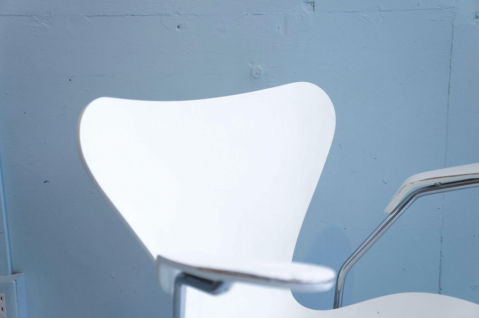 Fritz Hansen Series7 Armchair White/フリッツハンセン セブンチェア アーム付き ホワイト 1