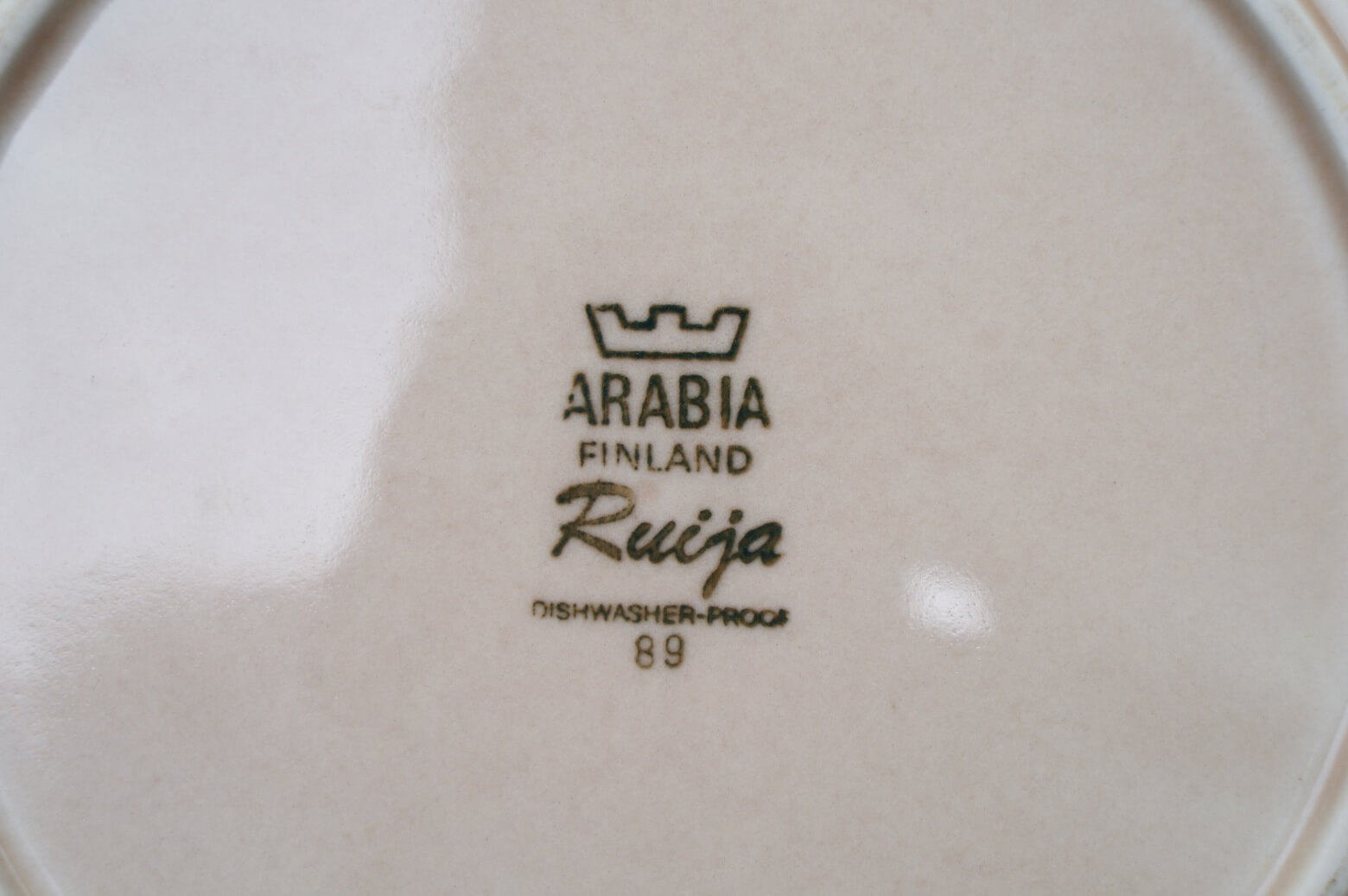 ARABIA FINLAND RUIJA 20cm PALTE / アラビア ルイヤ プレート 1