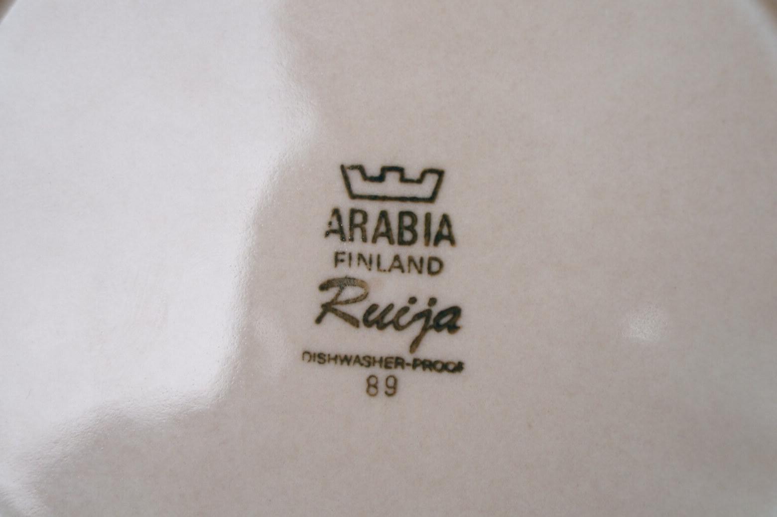 ARABIA FINLAND RUIJA 20cm PALTE / アラビア ルイヤ プレート 2