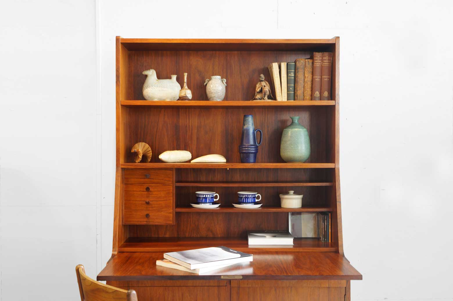 H.P.Hansen Møbelindustri Writing Bureau Rosewood/H.P.ハンセン ライティングビューロー ローズウッド
