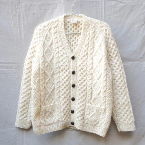 Fisherman Knit Cardigan Made In New Zealand/フィッシャーマン ニットカーディガン ニュージーランド製