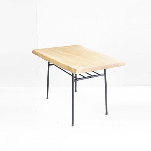 Solid Wood Iron Leg Remake Table/一枚板 鉄脚 リメイクテーブル