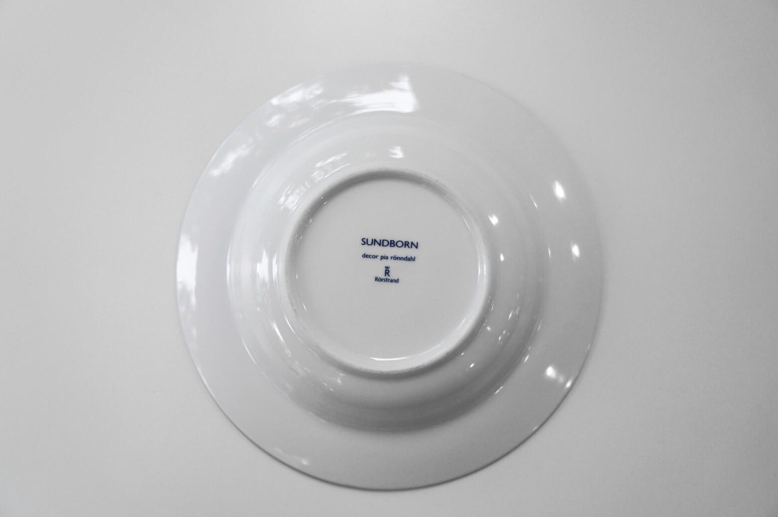 Rorstrand Sundborn Deep Plate 24cm/ロールストランド スンドボーン ディーププレート 1