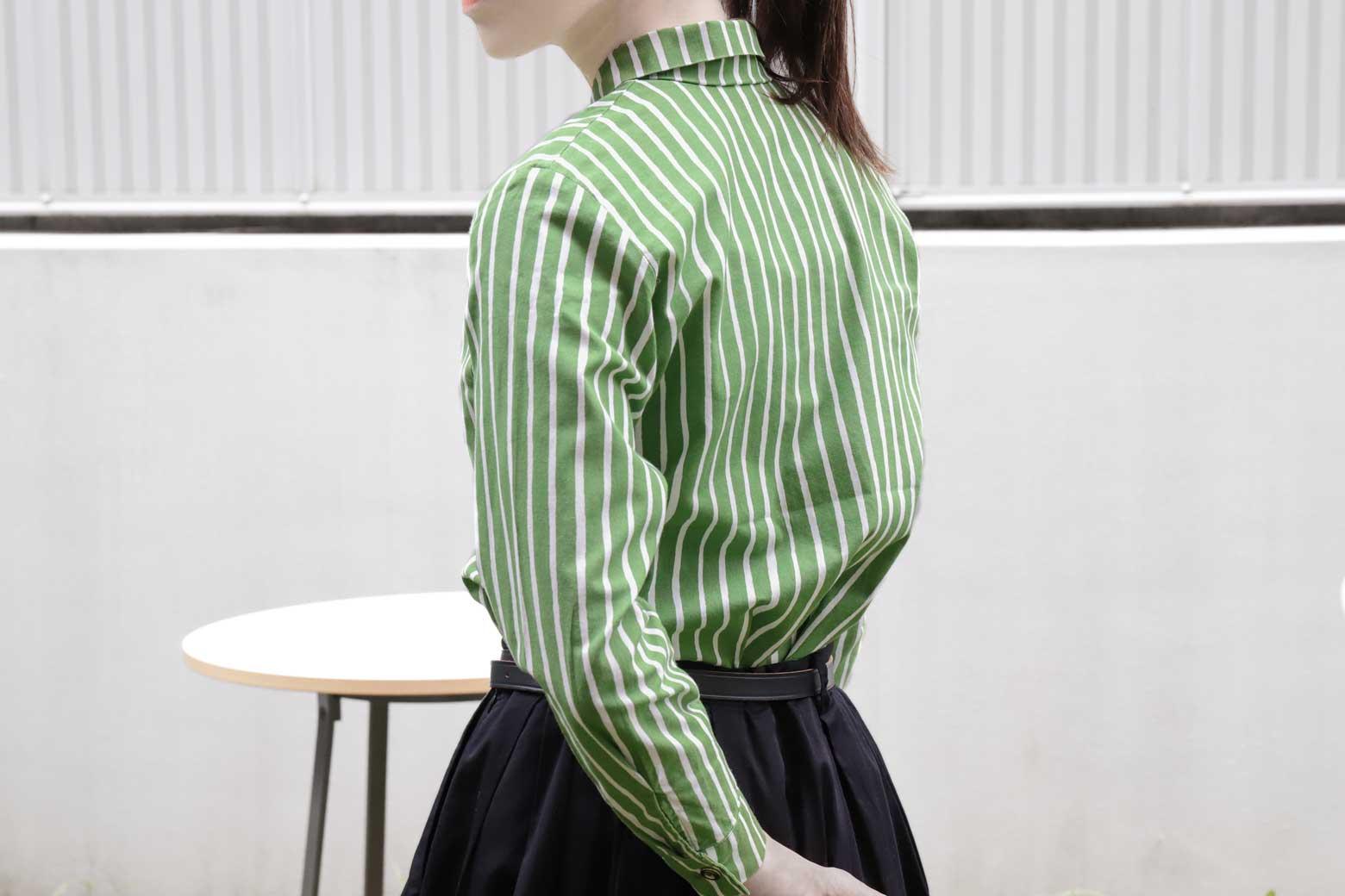 marimekko Piccolo JOKAPOIKA green white 140size/マリメッコ ピッコロ ヨカポイカ グリーン ホワイト 140サイズ