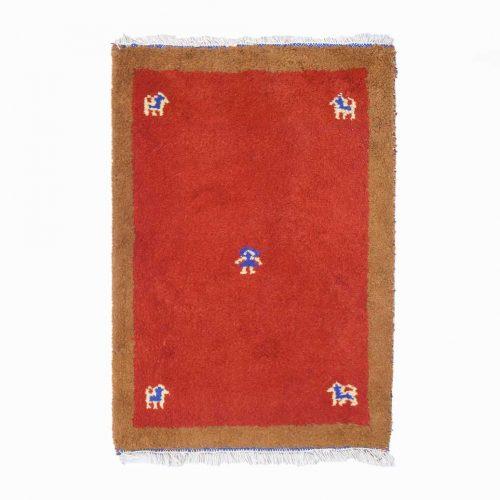Gabbeh Rug Persian Carpet/ギャッベ ラグ 手織り ペルシャ絨毯